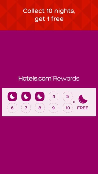 Hotels.com screenshot two