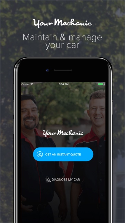 YourMechanic Mobile App