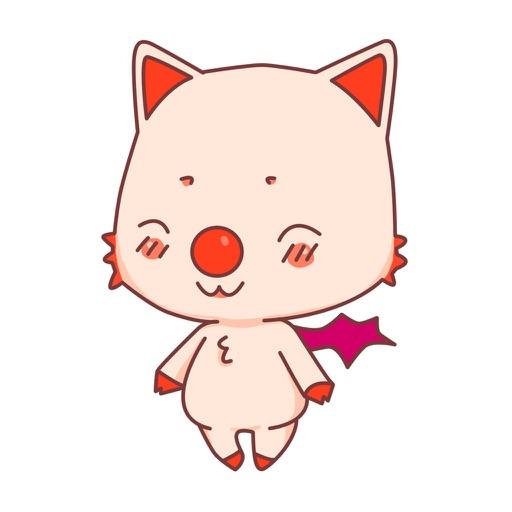BonBon Bat - cute bat cat