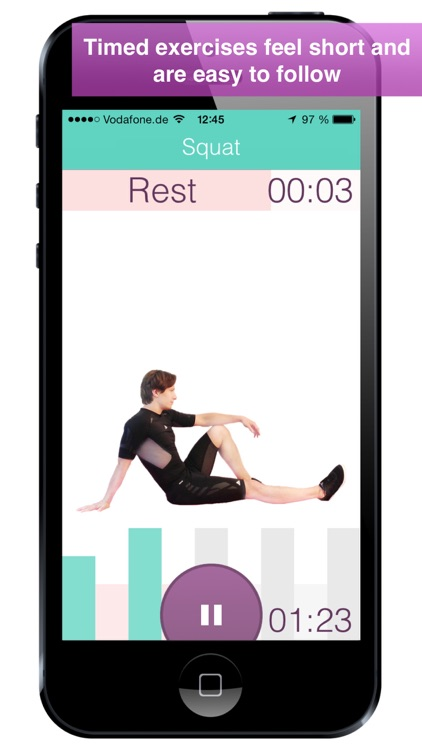 Level+Up Bodyweight Workout, Exercise and Fitness screenshot-3