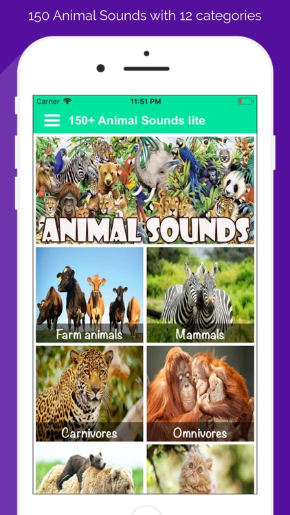 150+ Animal Sounds Lite