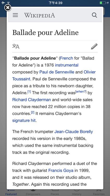 Classic Piano Scores
