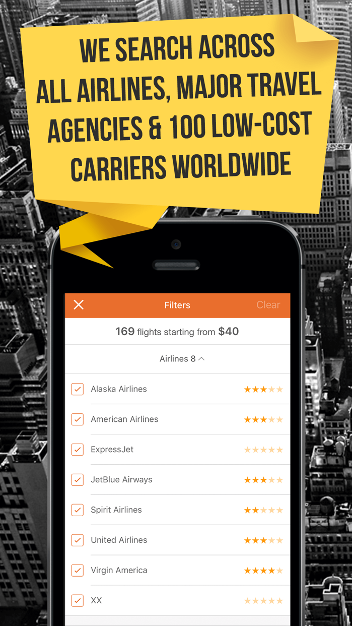 Cheap Flights & Airfare Deals – 777 Airlines Screenshot