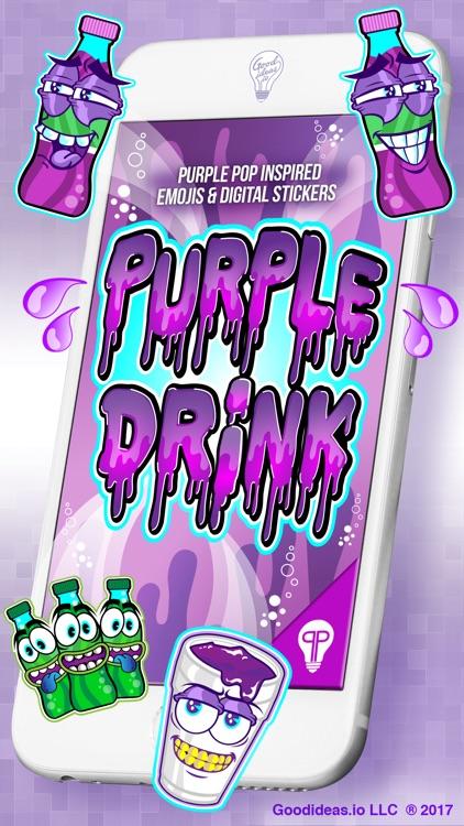 Purple Drink Stickers