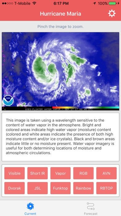 Hurricane Maria Storm Tracker screenshot 5