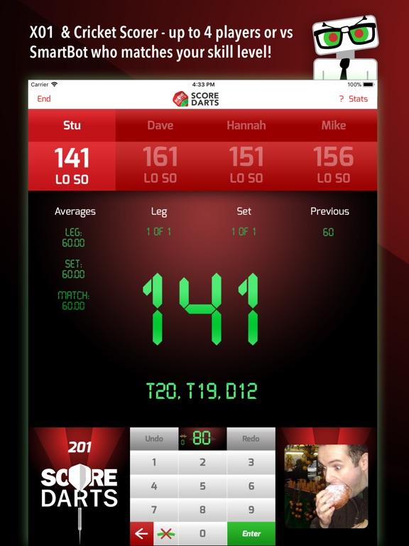dart score app iphone free