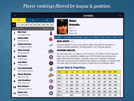 Fantasy Baseball Assistant '18 screenshot 8