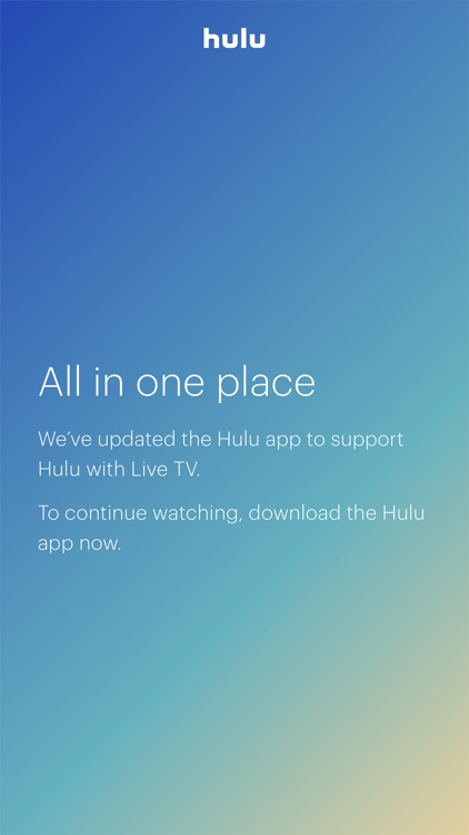 Hulu with Live TV screenshot-0
