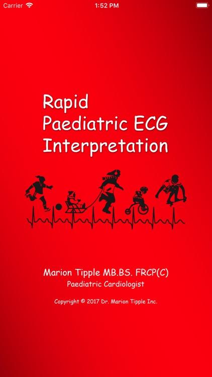 Rapid Paed ECG