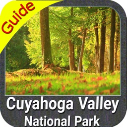 Cuyahoga Valley NP gps and outdoor map with Guide