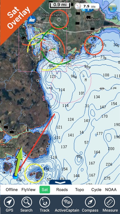 Marine : Hebrides GPS Map fishing chart Navigator screenshot-3