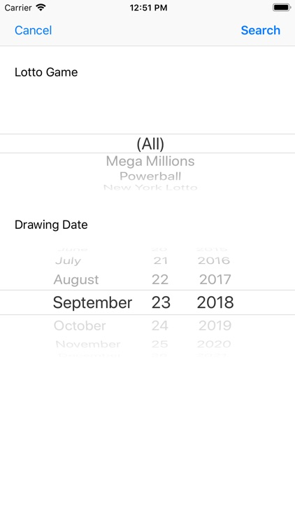 Lotto Results + Lottery in US screenshot-3