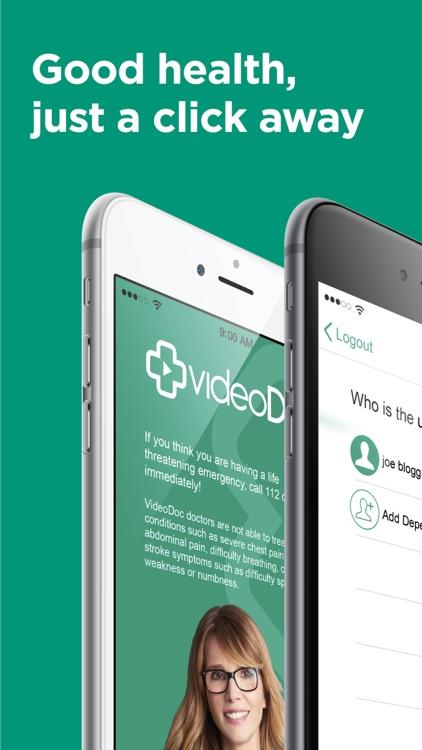 videoDoc - Online Doctor UK