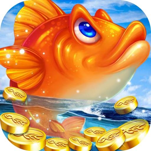 万炮捕鱼游戏厅-疯狂手机捕鱼大赛的捕鱼