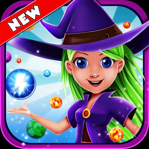 WitchLand-Magic Bubble Shooter free software for iPhone, iPod and iPad