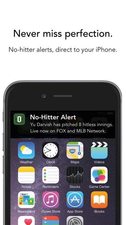 No-Hitter Alerts