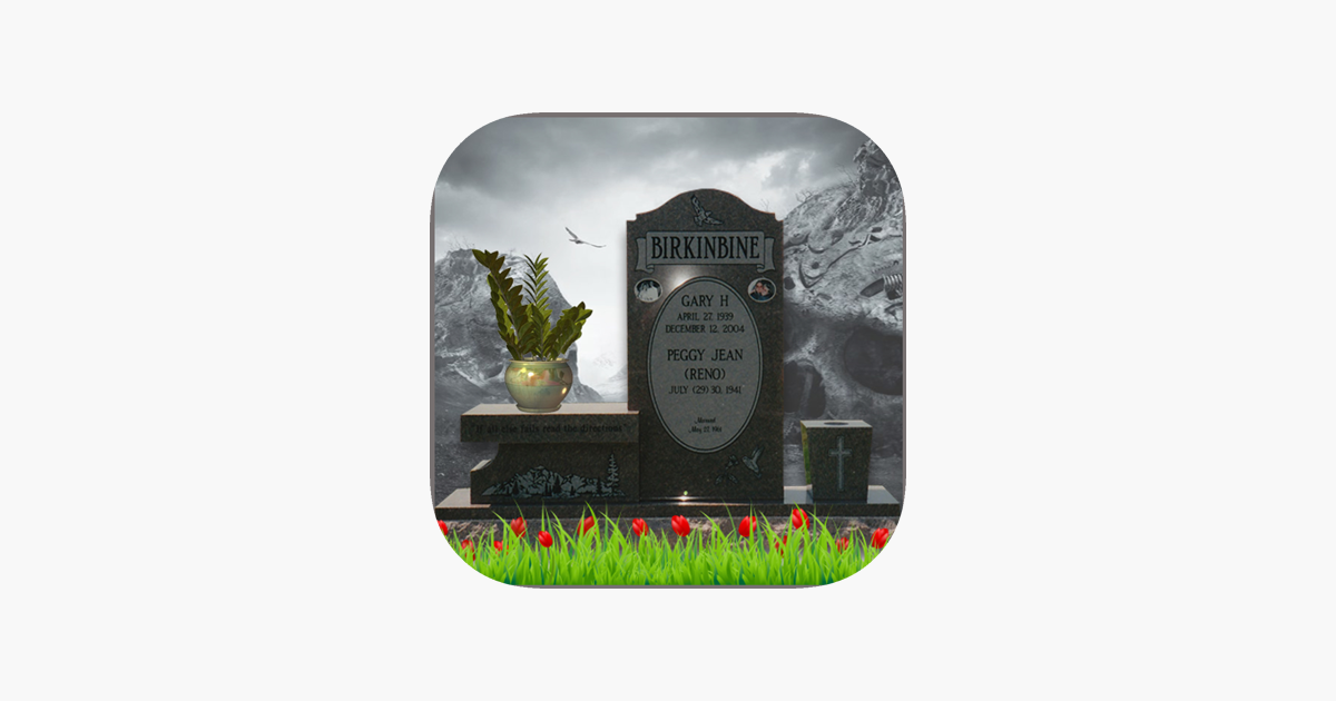 Tombstone Photo Maker on the App Store