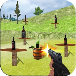 Sniper Shooter:Bottle Shoot 3D
