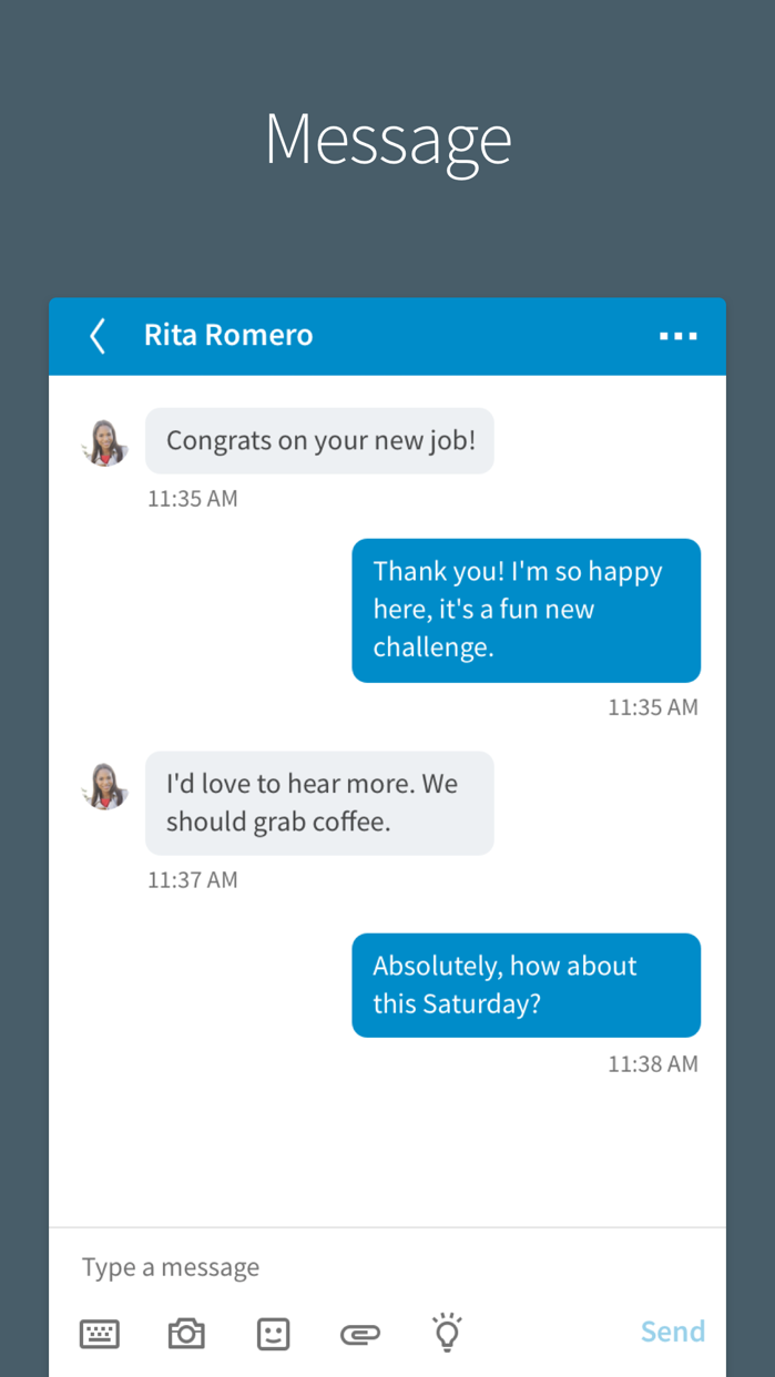 LinkedIn Screenshot