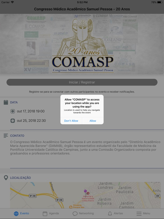 iPad Image of COMASP