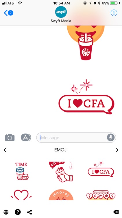 Chick-fil-A Emojis screenshot-4