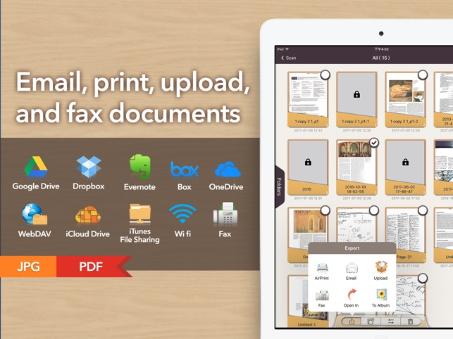 Doc Scan HD - Fax PDF Scanner Screenshot