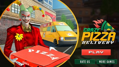Christmas Fun: Pizza Delivery screenshot one