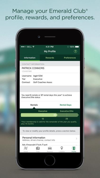 National Car Rental screenshot-4