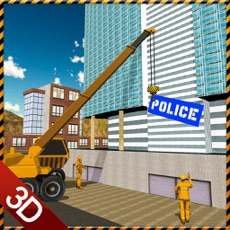 Activities of Police Station Builder Game
