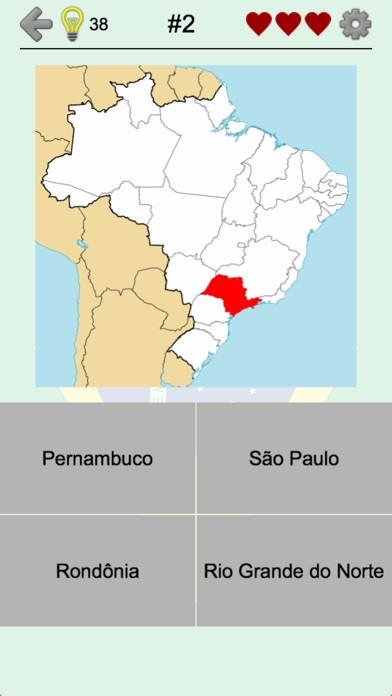 Brazilian States - Brazil Quiz