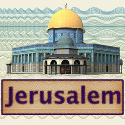 Jerusalem - Easy Travel Map