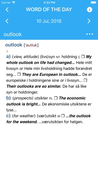 Collins Norwegian Dictionaryのおすすめ画像1