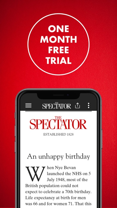 The Spectator Magazine review screenshots
