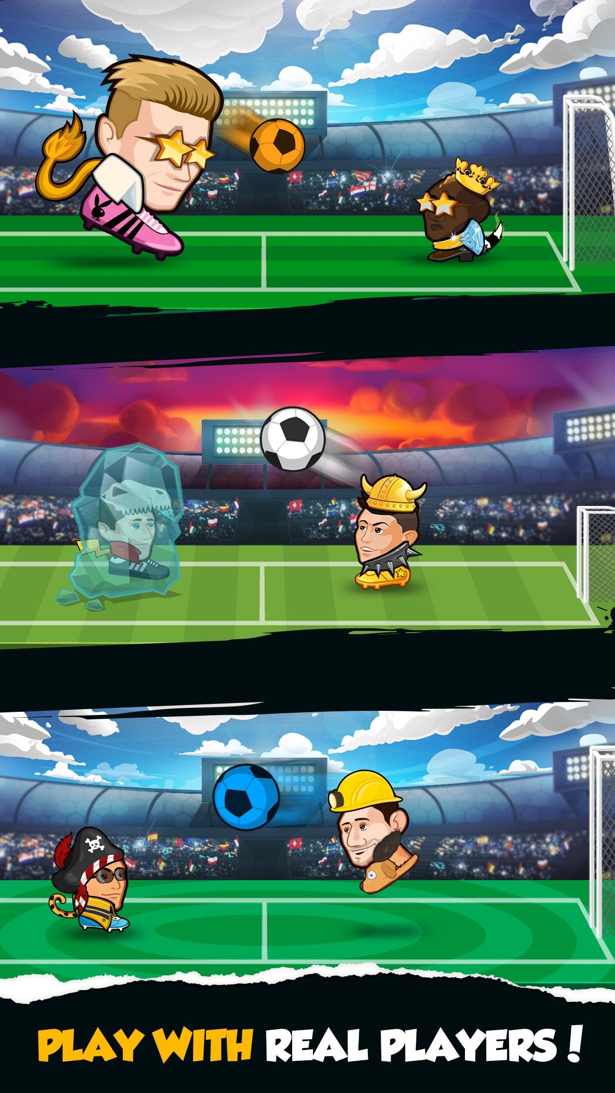 Online Head Ball Screenshot