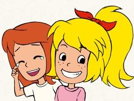 Bibi & Tina Sticker