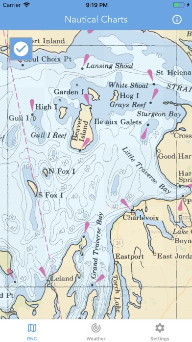 Screenshot for Nautical Charts & Maps in United States App Store