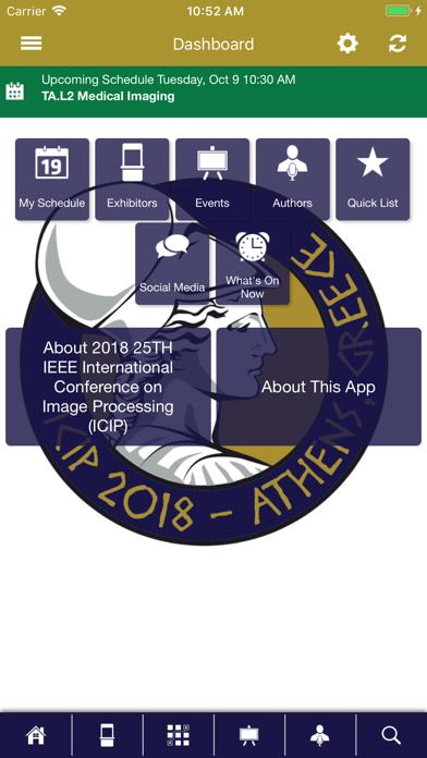 IEEE SPS Events screenshot two