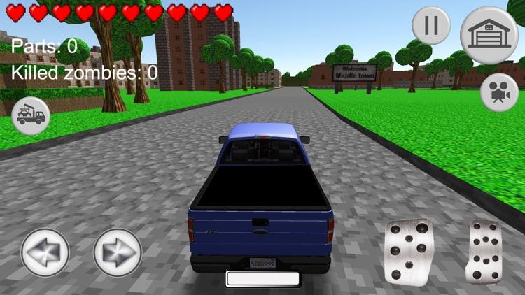 Blocky City: infected zone screenshot-3