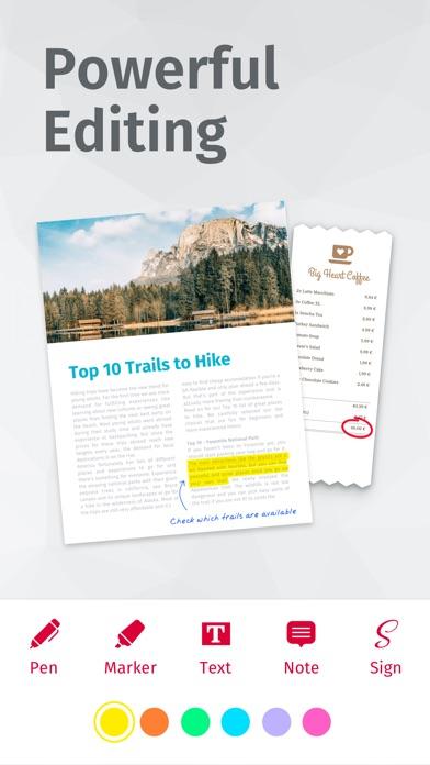 Scanbot Scanner App - Scan PDF