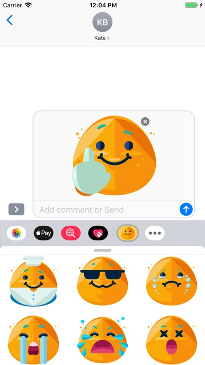 iSmiley Emoji Stickers screenshot-5