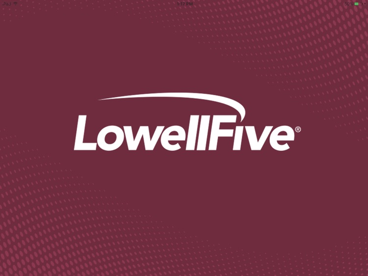 Lowell Five Bank for iPad