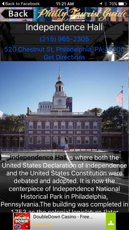 Philadelphia Tourist Guide screenshot-3