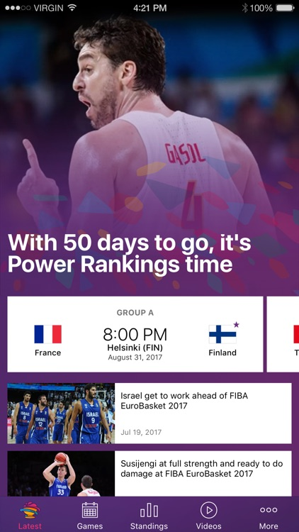 EuroBasket 2017 screenshot-0