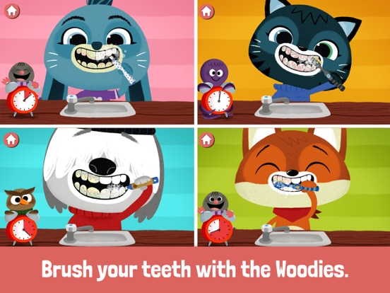 WoodieHoo Brushing Teeth Screenshots
