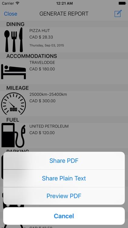 My Travel Expenses screenshot-4