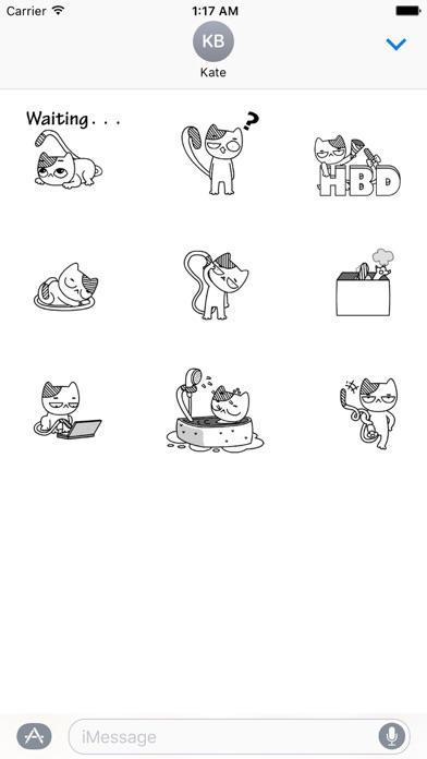 Animated Cat Catmoji Stickers screenshot 2