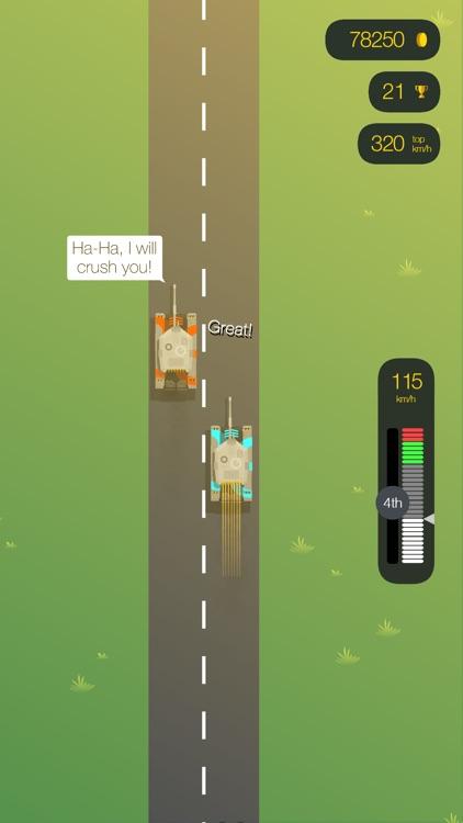 Drag Race FRVR - Hit the Gas! screenshot-4
