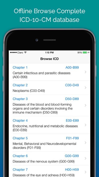 ICD-10 On the Go screenshot-3