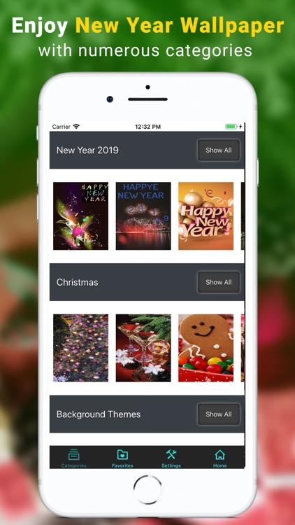 New Year 2018 Wallpapers Pro screenshot-3