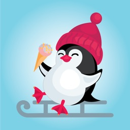 Penguin Sticker for iMessage
